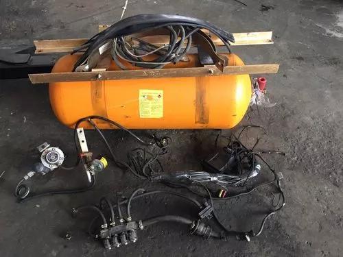 Kit gnv gás geração 5 completo cilindro de 15 metros