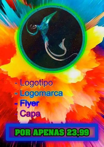 Logotipo, logomarca, flyer, capa e criação de arte