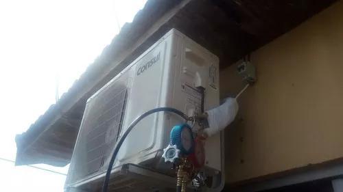 Manutenção e instalação de ar condicionado e cameras
