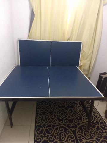 Mesa de ping pong + rede com suporte