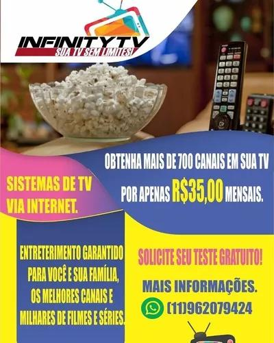 Obtenha mais de 900 canais por 35 reais mensais