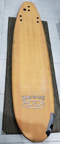 Prancha de surf soft longboard tamanho 6 pés maré