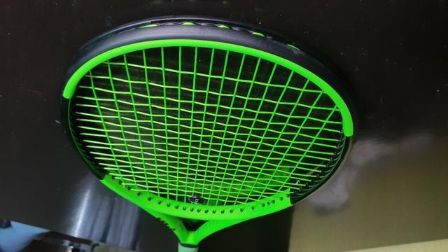 Raquete de tênis wilson blade 98 inverse verde, 285g,