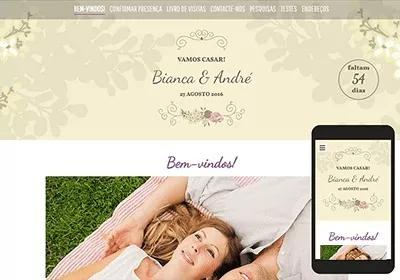 Site para casamento | sites profissionais para casamentos