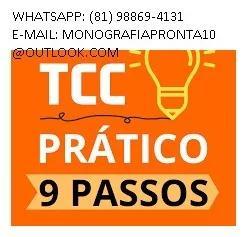 Tcc pronto e monografia na área de direito e pedagogia