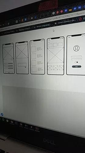 Trabalhos de design gráfico e ux design