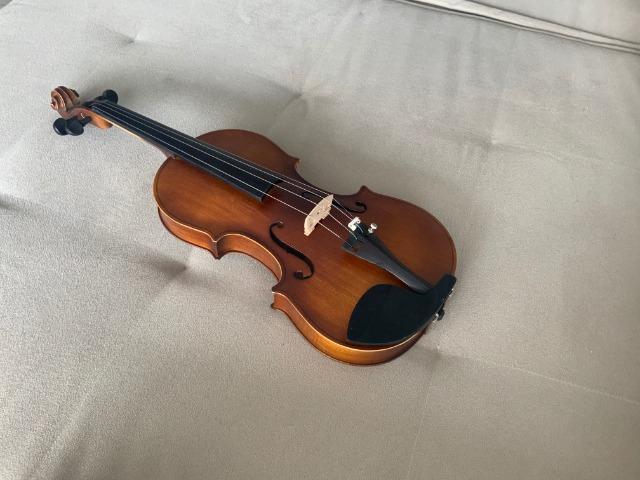 Violino novo 4/4, coreto instrumentos