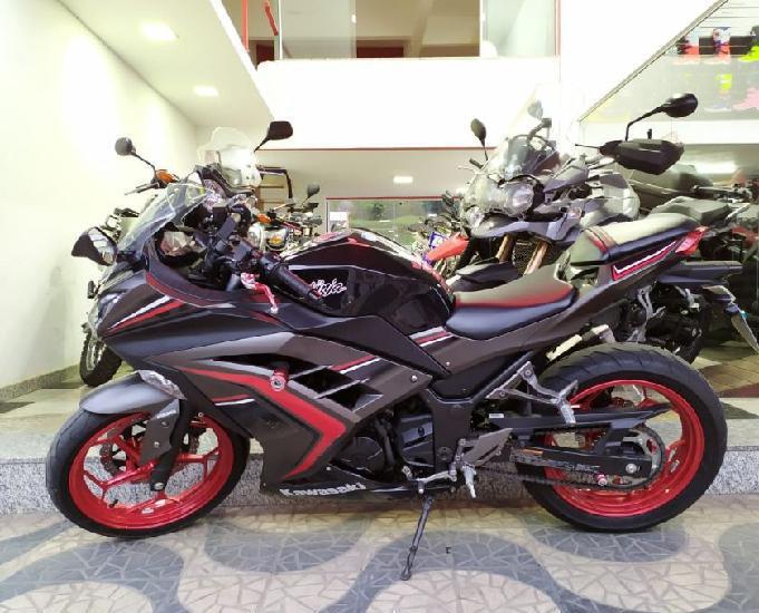 Kawasaki ninja 300 abs 2017 6.000km moto muito nova revisada