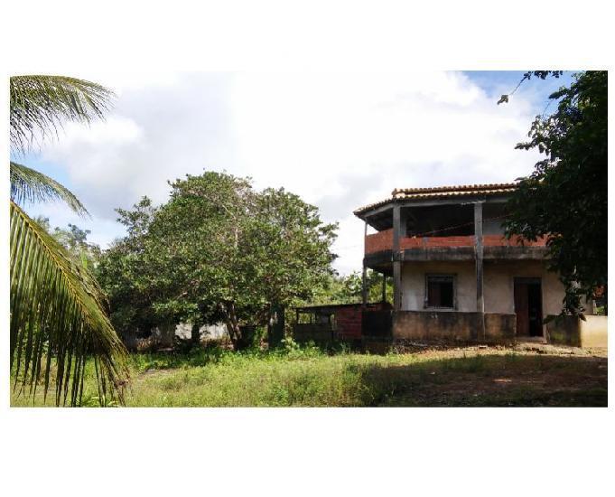 Sítio em camaçari, área verde, casa sede (duplex)