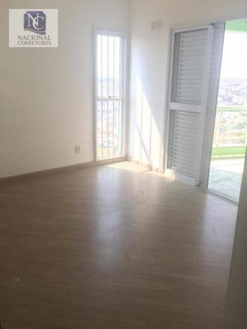 Apartamento com 3 dormitórios para alugar, 124 m² por r$