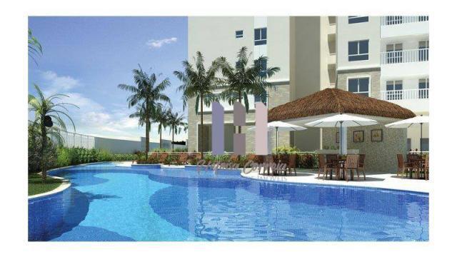 Apartamento com 3 dormitórios para alugar, 83 m² por r$