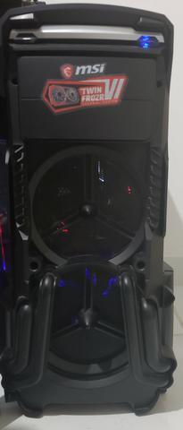 Computador gamer top de linha, gtx 1080 msi, 16 gb ddr4, 1tb