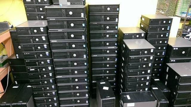 Computadores hp core2duo e8400 / 4gb ddr3 / hdd 320gb/ win7