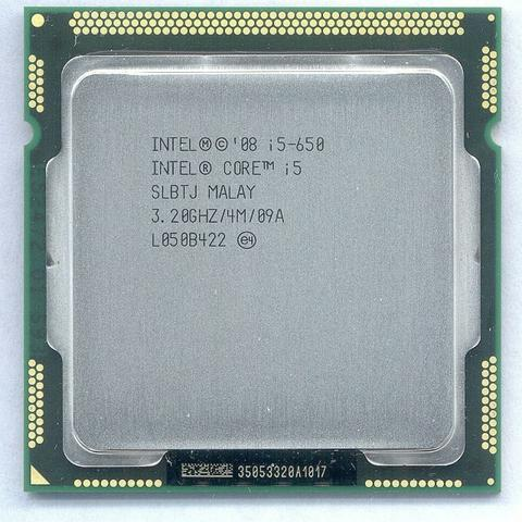 Core i5 650 (1156 primeira geraçao!)