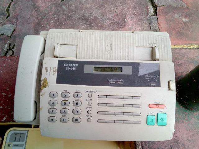 Fax sharp (retirada de peças