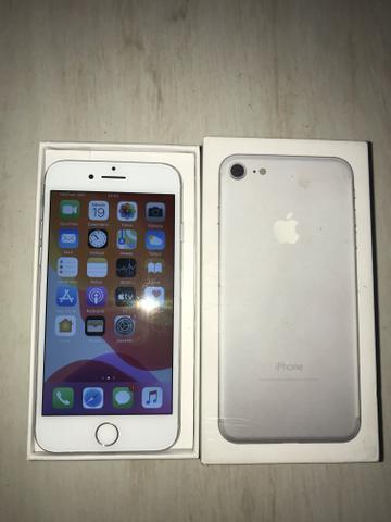 Iphone 7 32gb cor prata