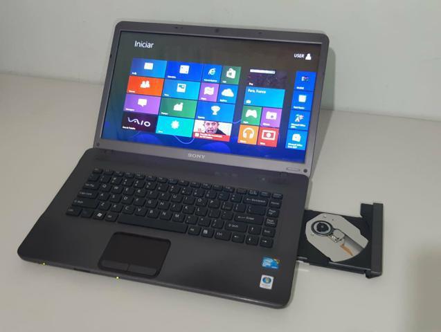 Notebook sony vaio tamanho 15.6 4gb