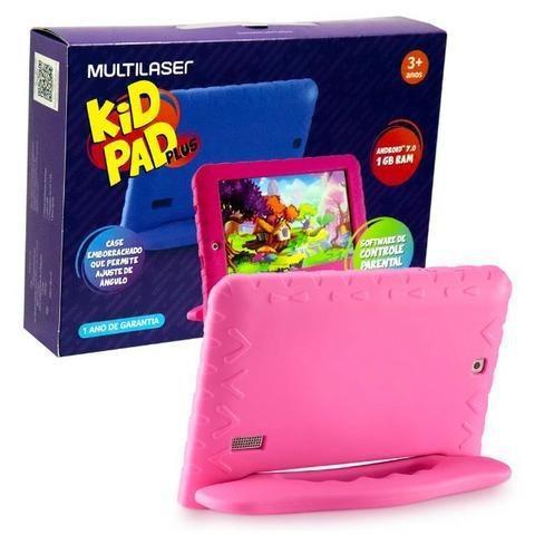 Tablet infantil nb279 kid pad plus multilaser 8gb 7 pol