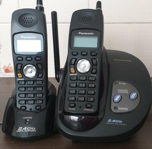 Telefone fixo sem fio com ramal