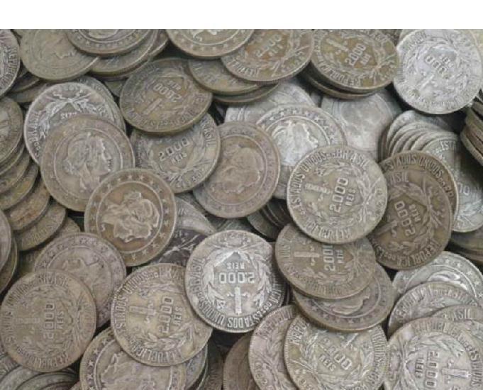 Vendo 10 quilos de moedas prata 500 1924 a 1938 r$4.500 tudo