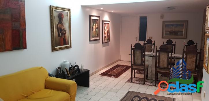 Apartamento 3 quartos (2 suítes) em boa viagem 120m