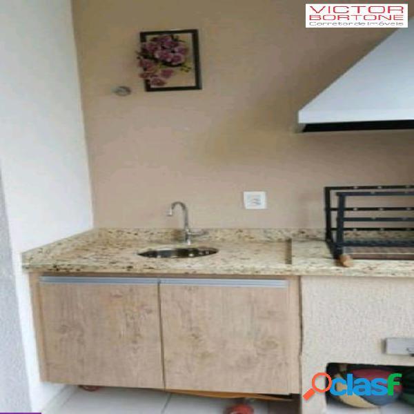 Apartamento 2 dormitórios 1 suíte com churrasqueira