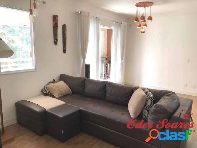 Alugue apartamento com 2 suítes e sala estendida no alpha style