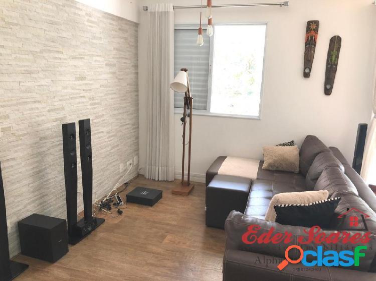 Alugue Apartamento com 2 suítes e Sala Estendida no Alpha Style 2