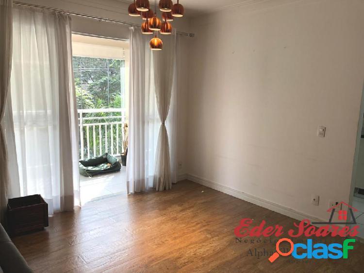 Alugue Apartamento com 2 suítes e Sala Estendida no Alpha Style 3