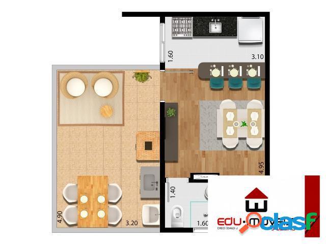Apartamento duplex residencial à venda, vila nova bonsucesso / guarulhos