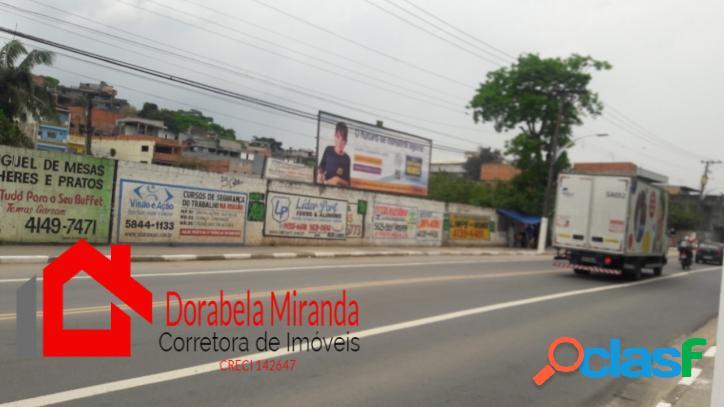 Terreno de 6.658m² na avenida rotary em embu das artes sp.