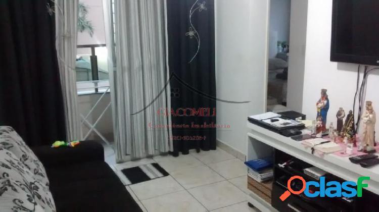 Apartamento no condomínio san juliano - aricanduva com sacada s/vaga