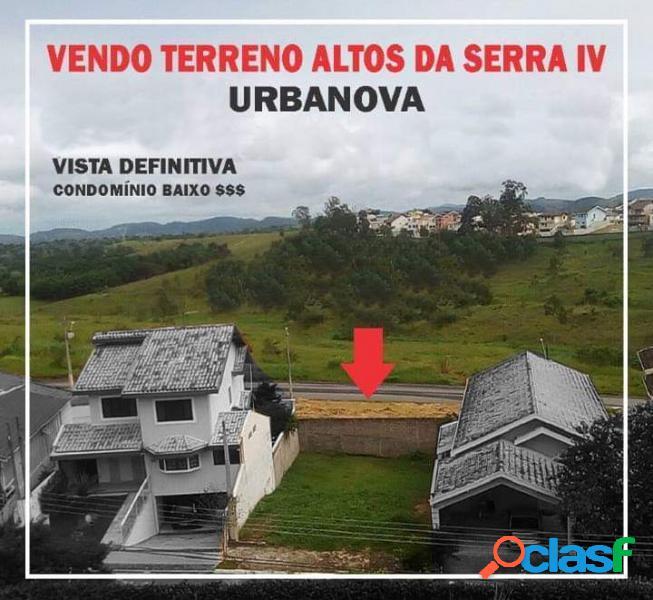 Terreno para venda em são josé dos campos / sp no bairro urbanova iv-a