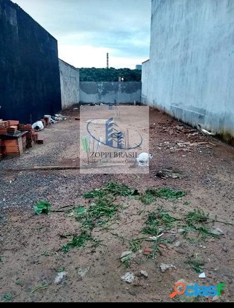TE237 - Terreno para venda em Americana, Nova Carioba, com 150m². alicerce