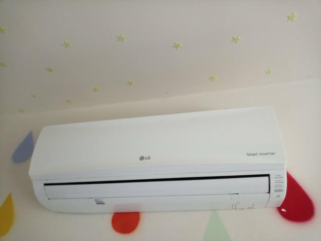 Ar condicionado inverter lg + instalação