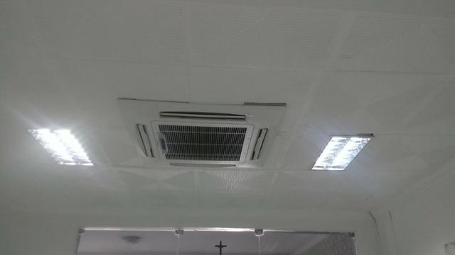 Ar condicionado split cassete 36.000 btus marca eletroctrux