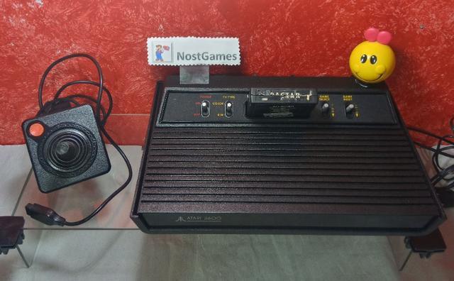 Atari 2600 com jogos