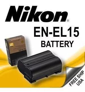 Bateria en-el15 original nikon d500 d600 d610 d750 d800 d810