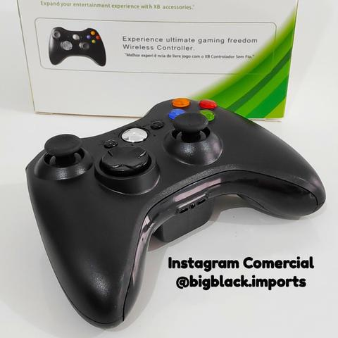 """Controle sem fio xbox 360 """"similar"""" compatível com modelos"""