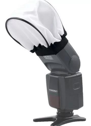 Difusor para flash dedicado speedlight - mini softbox - ls03