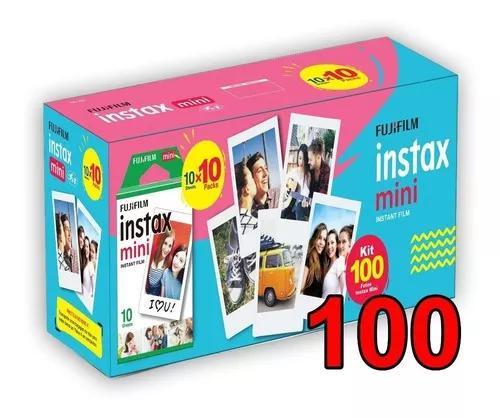 Filme instax com 100 fotos nova