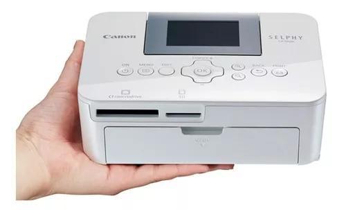 Impressora fotografica canon selphy cp1000 brinde 106 papel