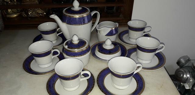 Jogo de cafe porcelana