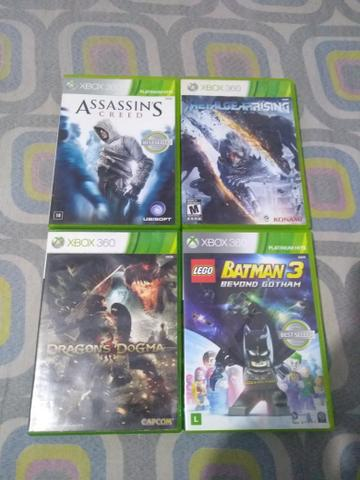 Jogos Xbox e play 3