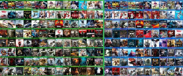 Jogos de xbox one e 360, ps4 ps3 psp originais (valores