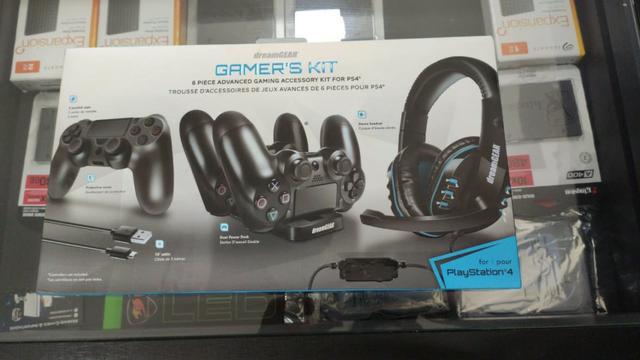 Kit gamer para ps4, lacrado a pronta entrega,