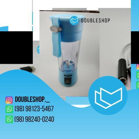 Mini liquidificador portátil, juice cup 6 lâminas potentes