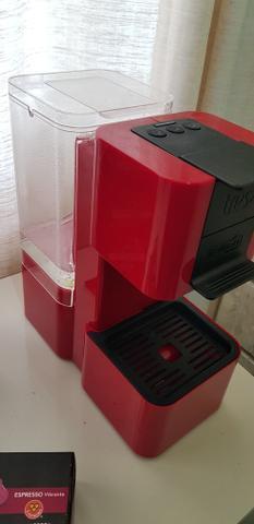 Máquina café expresso 3 corações pop + porta cápsula