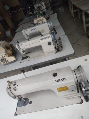 Máquinas de costura retas industriais em 6 x sem juros no