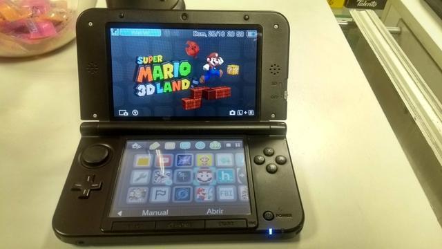 Nintendo 3ds xl - vendo ou troco - barbada